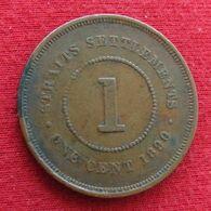 Straits Settlements 1 Cent 1890 - Otros – Asia