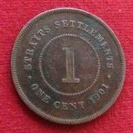 Straits Settlements 1 Cent 1901 - Otros – Asia