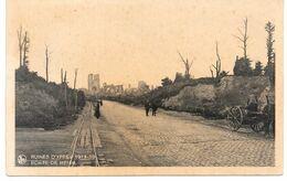 Cpa Ruines D'Ypres 1914-18  / Porte De Menin . - Ieper