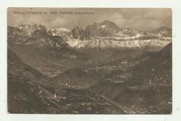 DOLOMITI PRESSO BOLZANO 1937 - VIAGGIATA  FP - Bolzano (Bozen)
