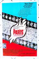 Aff Ciné Orig US PARIS BRÛLE-T-IL ? (1966) Orig US 1sh Poster Charles BOYER Leslie CARON Kirk Douglas... - Plakate & Poster
