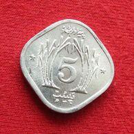 Pakistan 5 Paisa 1977 KM# 35 Fao F.a.o. *V2 Paquistao - Pakistan