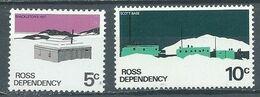 Dépendance De Ross YT N°11-13 Baraquement De Shackleton - Base Scott Neuf ** - Neufs