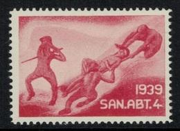 Suisse /Schweiz/Switzerland // Vignette Militaire // Sanitaire , San.Abt.4 - Viñetas