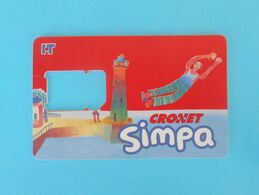 CRONET - SIMPA  ( Croatia Old And Rare GSM SIM Card ) * USED - Without Chip * Lighthouse Phare Faro Lanterna - Telecom Operators