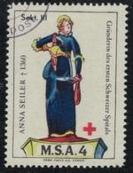 Suisse /Schweiz/Switzerland // Vignette Militaire // Sanitaire , M.S.A. 4 Sekt III - Viñetas
