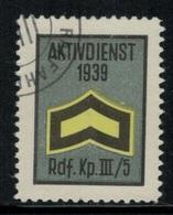 Suisse /Schweiz/Switzerland // Vignette Militaire // Radfahrer-cycliste, Rdf.Kp.III/5 - Viñetas