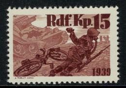 Suisse /Schweiz/Switzerland // Vignette Militaire // Radfahrer-cycliste, Rdf.Kp.15 - Viñetas