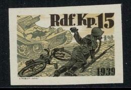 Suisse /Schweiz/Switzerland // Vignette Militaire // Radfahrer-cycliste, Rdf.Kp.15 (Non Dentelé) - Viñetas
