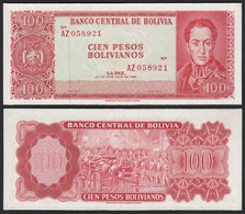 Bolivien - Bolivia 100 Bolivianos 1962 XF (2) Pick 164c  (24260 - Bankbiljetten