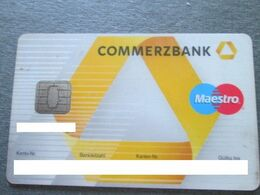 COMMERZBANK, MAESTRO CARD - Geldkarten (Ablauf Min. 10 Jahre)