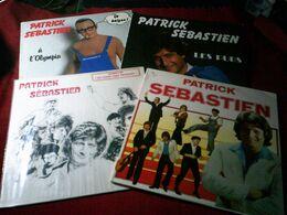 PATRICK  SEBASTIEN  °  COLLECTION DE 4 / 33 TOURS - Vinyl Records