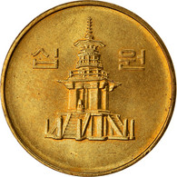 Monnaie, KOREA-SOUTH, 10 Won, 1994, TTB, Laiton, KM:33.1 - Korea, South