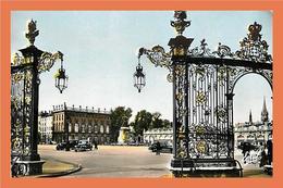 A160 / 579 54 - NANCY - Place Stanislas - Grilles De Jean Lamour - Francia