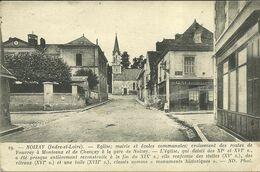 NOIZAY  -- église, Mairie, écoles Communales .......                     -- ND 19 - Other Municipalities