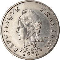 Monnaie, Nouvelle-Calédonie, 20 Francs, 1972, Paris, TTB+, Nickel, KM:12 - New Caledonia