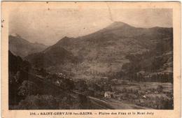51ao 1205 CPA - SAINT GERVAIS LES BAINS - PLAINE DES PRAZ - Saint-Gervais-les-Bains