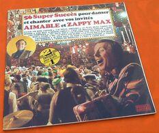 Vinyle 33 Tours (double) Aimable Et Zappy Max 56 Super Succès Pour Danser Et Chanter... - Vinyl Records
