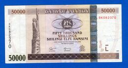 Ouganda  50.000 Shillings  2007 - Oeganda