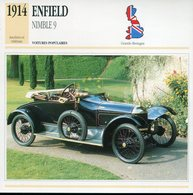 Grande Bretagne 1914 - Enfield Nimble 9 - Voitures