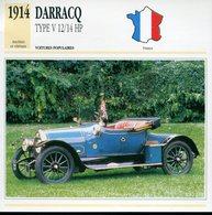 France 1914 - DarracqType V12/14 HP - Voitures