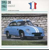 France 1953-61 - DB Coach GT - Voitures