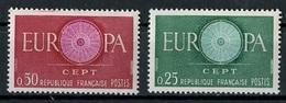 France - Frankreich 1960 Y&T N°1266 à 1267 - Michel N°1318 à 1319 *** - EUROPA - Unused Stamps