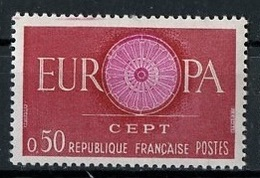 Europa CEPT 1960 France - Frankreich Y&T N°1267 - Michel N°1319 *** - 50c EUROPA - Europa-CEPT