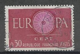 Europa CEPT 1960 France - Frankreich Y&T N°1267 - Michel N°1319 (o) - 50c EUROPA - Europa-CEPT