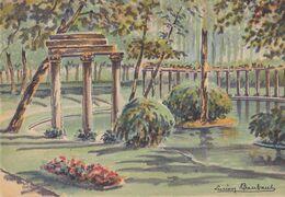 BARRE DAYEZ 2302 X   Le Parc Monceau  ( Scan Recto-verso ) - Sonstige