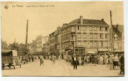 CPA - Carte Postale - Belgique - La Panne - Grand Place Et Avenue De La Mer (SVM13841) - De Panne