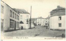 8. GERPINNES : Place De La Halle - RARE VARIANTE - Gerpinnes
