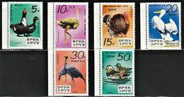 1979 North Korea Birds Of The Central Zoo Set (** / MNH / UMM) - Oiseaux