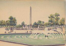 BARRE DAYEZ  2302 W  Les Tuileries Et Les Champs Elysées  ( Scan Recto-verso ) - Sonstige
