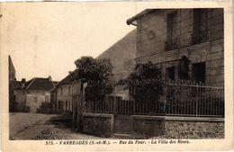 CPA Varreddes - Rue Du Four - La Villa Des Roses (1038701) - Other Municipalities