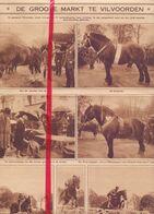 Orig. Knipsel Coupure Tijdschrift Magazine - De Grote Markt Te Vilvoorde - 1928 - Oude Documenten
