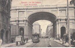 ITALIA - GENOVA - Tram, Leggi Testo, Animata, 1900 Circa - 2020-D-125 - Altre Città