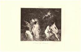 Diane Et Actéon - Eau-forte D'après Octave Tassaert (Paris 1800 - 1874) - PRÉVOIR FRAIS DE PORT - Prints & Engravings
