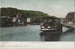 Dinant.   -   Le Bateau Namur  Touristes.   -   1900 - Dinant