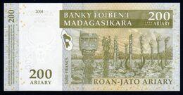 Madagascar 2004 200 Ariary UNC Neuf Parfait   Voir Autres Ventes Série 3 N° - Madagascar