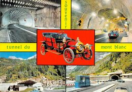 "01842 ""(AO) TUNNEL DU MONT BLANC-USCITA/INGRESSO VERSANTE FRANCESE-INGRESSO VERSANTE ITALIANO"" CART NON SPED - Aosta"