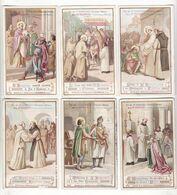 Chromo  AIGUEBELLE    Lot De 12    La Vie De Saint Bernard     11.1 X 6.8 Cm - Aiguebelle