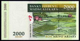 Madagascar 2004 2000 Ariary UNC Neuf Parfait - Madagascar