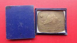 Metal PEA Beograd 1962,VII.PRVENSTVO EVROPE U ATLETICI.IKOM Zagreb-Jugoslavija.EUROPEAN CHAMPIONSHIP ATHLETICS - Atletismo