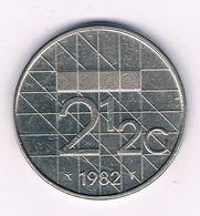 2 1/2 GULDEN 1982 NEDERLAND /7228/ - [ 3] 1815-… : Royaume Des Pays-Bas