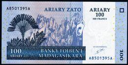 Madagascar 2004 100 Ariary 500 Francs UNC Neuf Parfait - Madagascar