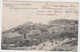 ESPAGNE - MALLORCA - Vista Général De PORTO-Pi Y FARO VIGIA - Timbre à Date De 1905 - Mallorca