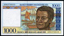 Madagascar 1998 1000 Francs UNC Neuf - Madagascar