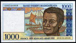 Madagascar 1998 1000 Francs UNC Neuf  Voir Explications - Madagascar