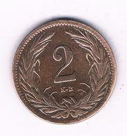 2  FILLER 1908  HONGARIJE /7239/ - Ungheria